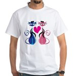 Kitty Love White T-Shirt