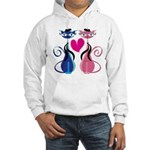 Kitty Love Hooded Sweatshirt
