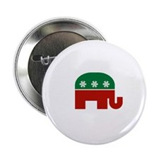 "GOP Christmas 2.25"" Button"