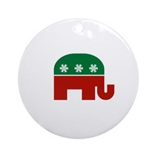 GOP Christmas Ornament (Round)