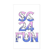 SC24FUN FAN LOGO Decal