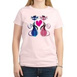 Kitty Love Women's Light T-Shirt