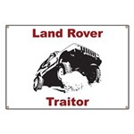 Land Rover Traitor Banner