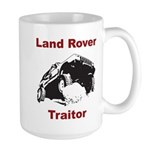 Land Rover Traitor Large Mug