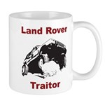 Land Rover Traitor Mug