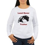 Land Rover Traitor Women's Long Sleeve T-Shirt