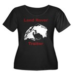 Land Rover Traitor Women's Plus Size Scoop Neck Da