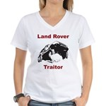 Land Rover Traitor Women's V-Neck T-Shirt