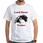 Land Rover Traitor White T-Shirt