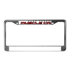 Cool Muscle car License Plate Frame