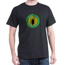 TED COCKROACH Black T-Shirt