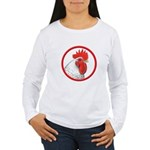 Rooster Circle Women's Long Sleeve T-Shirt