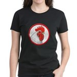Rooster Circle Women's Dark T-Shirt