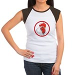 Rooster Circle Women's Cap Sleeve T-Shirt