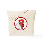 Rooster Circle Tote Bag