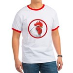 Rooster Circle Ringer T