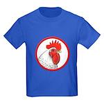 Rooster Circle Kids Dark T-Shirt