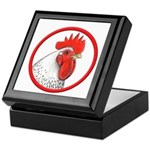 Rooster Circle Keepsake Box