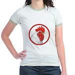 Rooster Circle Jr. Ringer T-Shirt