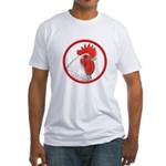 Rooster Circle Fitted T-Shirt