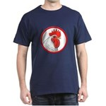 Rooster Circle Dark T-Shirt