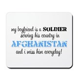 I Miss Him Everyda - Afghanis Mousepad
