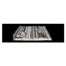Prison Bar Code Bumper Sticker (10 pk)