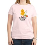 Knitting Chick Women's Light T-Shirt