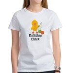 Knitting Chick Women's T-Shirt