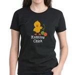 Knitting Chick Women's Dark T-Shirt