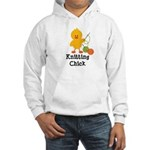 Knitting Chick Hooded Sweatshirt