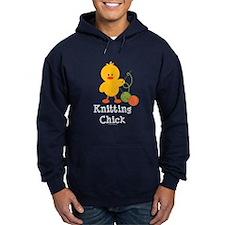 Knitting Chick Hoodie