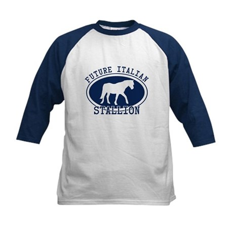 Future Italian Stallion Kids Baseball Jersey