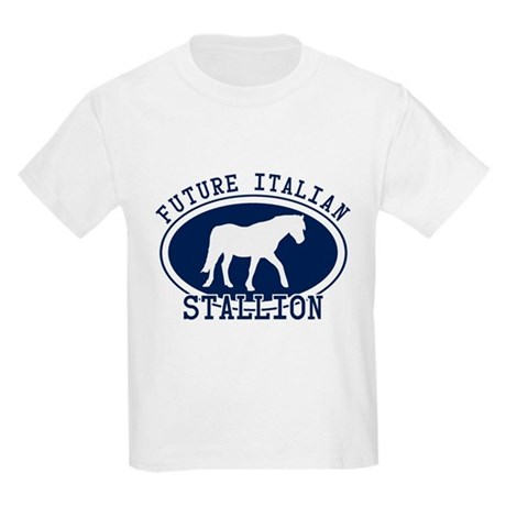 Future Italian Stallion Kids Light T-Shirt