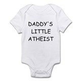 Daddy's Little Atheist Onesie