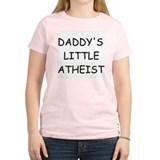 Daddy's Little Atheist T-Shirt