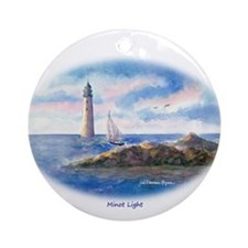Minot Light Custom Ornament (Round)
