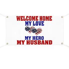 welcome home husband Banner