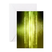 Matrix 1 Greeting Cards (Pk of 10)