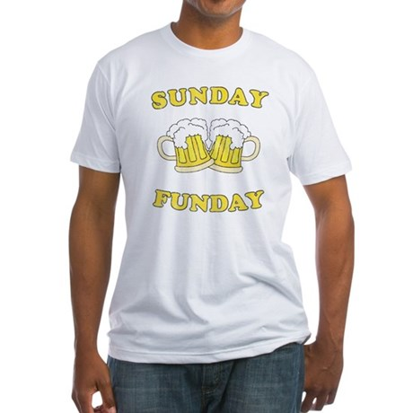 Sunday Funday Fitted T-Shirt