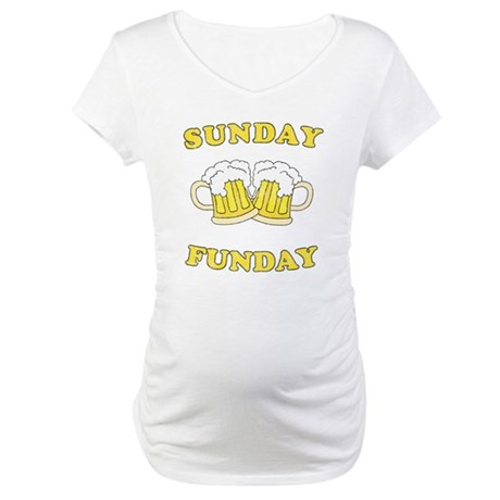 Sunday Funday Maternity T-Shirt