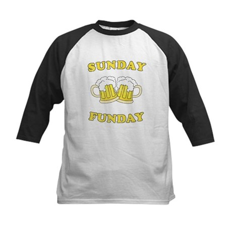 Sunday Funday Kids Baseball Jersey