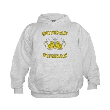 Sunday Funday Kids Hoodie