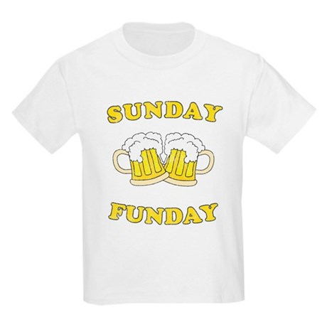 Sunday Funday Kids Light T-Shirt