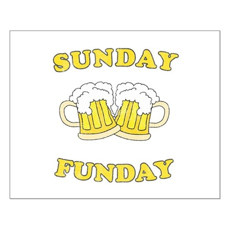 Sunday Funday Small Poster
