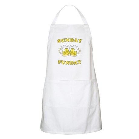 Sunday Funday BBQ Apron