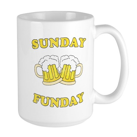 Sunday Funday Large Mug