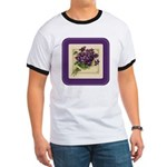 Bouquet of Violets Ringer T