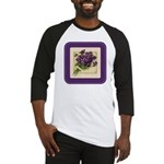 Bouquet of Violets Baseball Jersey