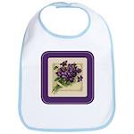 Bouquet of Violets Bib